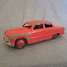 37F Vintage Dinky 139A Ford Sedan Rojo 1/43 Meccano