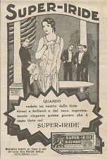 W6952 Super-Iride Bleu Mare - Gran galà - Pubblicità 1925 - Advertising