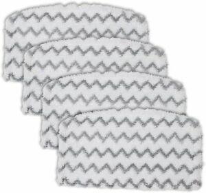 4x Steam Mop Pads for Shark Steam Mop S1000UK S1000 S1000A S1000C S1000WM S1001C