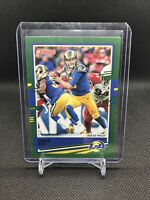 2020 Donruss Football JARED GOFF Green Press Proof PHOTO VARIATION!