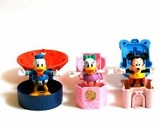 Jouets Mc Donalds Happy Meal Disneyland Euro Disney Mickey Donald Daisy figurine