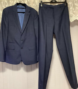 Mens Marks & Spencer Suit Size 40 Chest 34 Waist