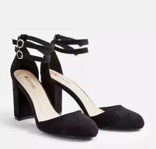 JustFab Clarysa Suede Feel Closed Toe Heel Sandal Size UK 6 RRP £54