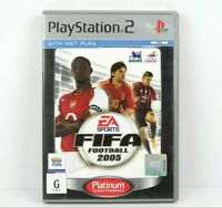 FIFA Football 2005 PS2 PlayStation 2 Platinum Game Complete PAL