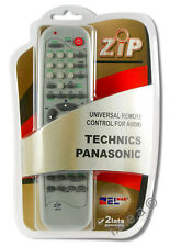 Replacement Universal Remote Control for Technics / Panasonic - Audio