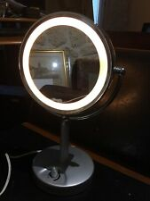 Mirror Vanity Beauty Cosmetic Bag Carry Light Calor a Dimmer
