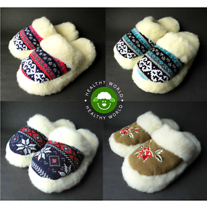 CLEARANCE! 30% OFF NOW! Soft Women's SHEEP WOOL Slippers , Rubber Sole