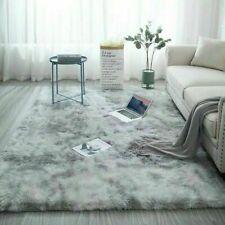 Fluffy Large Rugs Anti-Slip Soft Carpet Mat Floor Living Room Bedroom Rug UK