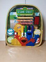 Sesame Street Art & Activity Kids Backpack - NEW - Big Bird - Elmo - Cookie Mons