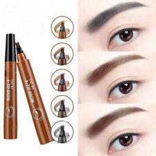 Waterproof Natural 4 Fork Tips Eyebrow Pencil Make Up Brow Tattoo Cosmetic Tool
