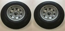 ST205/75 D14 Triton 06672 Class C Trailer Tire with Steel Rim - Pair