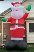20Ft HUGE Santa Claus Airblown Christmas Inflatable Yard Decor Gemmy