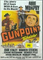 Gunpoint DVD Audie Murphy New and Sealed  Australian Release