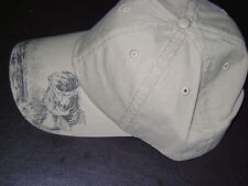 new BIG MOUTH BASS fishing cap / hat khaki color  $20+ valu baseball cap OSFA
