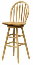 """Winsome Wood Wagner Stool, 30"""", Natural"""