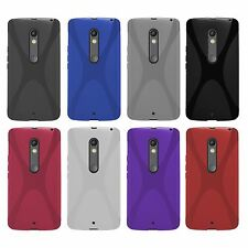 Motorola Moto X Play - X-Style X-Line TPU Schutzhülle Schutz Case Cover Etui