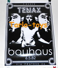 BAUHAUS - Firenze, Italy - 6 maggio 1982   poster concerto