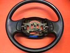 1997-2003 FORD F-150 F-250 F-350 RUBBER STEERING WHEEL CRUISE EQUIPPED BLACK!