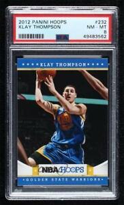 2012-13 NBA Hoops Klay Thompson #232 PSA 8 Rookie RC