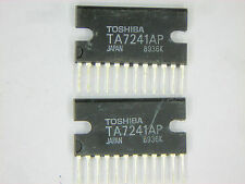 "TA7241AP  ""Original"" Toshiba  12P SIP IC  2  pcs"
