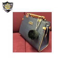 Fur Ball Personal Alarm Protection Self Defense Purse Luggage Gym Bag Key Chain