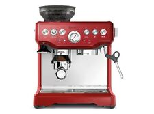 Breville Barista Cranberry Espresso  Machine with Grinder BES870CBXL 110 Volts