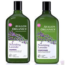 Avalon Organics NOURISHING LAVENDER Shampoo & Conditioner 325ml / 312g