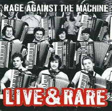 RAGE AGAINST THE MACHINE - LIVE & RARE (CD 1997 JAPON SONY MUSIC)