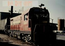 6F443 RP 1989 FLORIDA CENTRAL RAILROAD ENGINE #2503 PLYMOUTH FLORIDA