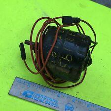 Studebaker heater fan motor, 1561260.    Item:  7420