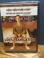 Bill Murray Lost in Translation New Dvd