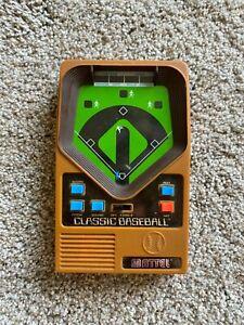 2001 Mattel Classic Baseball Handheld Game Works
