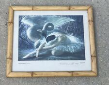 Tretchikoff, The Dying Swan, signed and numbered ( Marshall Fields Frame)