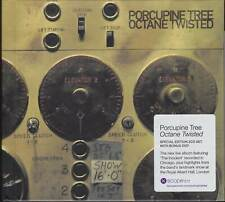 PORCUPINE TREE: OCTANE TWISTED LIMITED EDT. 2CD + DVD LIKE NEW + POSTCARD