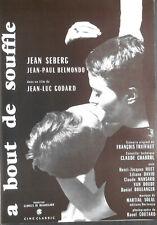 A BOUT DE SOUFFLE pressbook French Jean  Luc GODARD