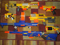NERF DART DISC COLLECTION LOTS TO CHOOSE FROM PICK ONE L@@K  LONG STRIKE CS 6