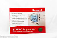 HONEYWELL 5/2 or 7 DAY 2 CHANNEL PROGRAMMER ST9400C  HEATING HOT WATER BOOST
