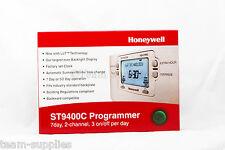 Honeywell 5/2 O De 7 Días 2 canal Programador st9400c calefacción de agua caliente Boost