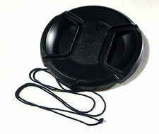 72MM CENTRE PINCH AND GRIP LENS CAP COVER FITS CANON SONY NIKON OLYMPUS FUJI
