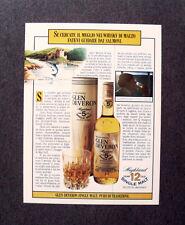 [GCG]  M638 - Advertising Pubblicità -1986- GLEN DEVERON SINGLE MALT WHISKY
