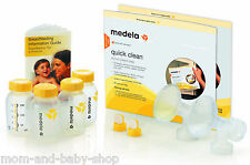 MEDELA BREAST PUMP SHIELD BOTTLE VALVE ACCESSORY SET REPLACEMENT PART KIT #67179