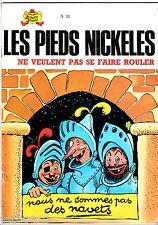 LES PIEDS NICKELES n°38 ¤ NE VEULENT PAS SE FAIRE ROULER ¤ 1980