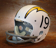 SAN DIEGO CHARGERS #19 Football Helmet Decals (NUMBERS ONLY) JOHNNY UNITAS '73