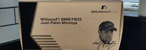 Minichamps - Williams FW23 - Juan Pablo Montoya - Limited Edition BMW Box- 1:18