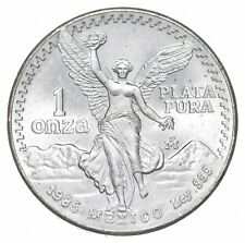 Brilliant Uncirculated 1985 Mexico Libertad Onza 1 Troy Ounce .999 Silver *829