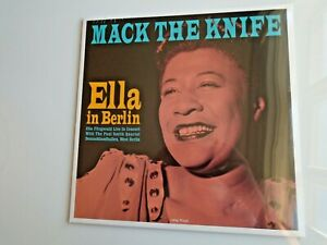ELLA FITZGERALD Mack The Knife UK LP new mint sealed 180g vinyl 2020 new!