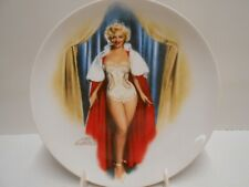 "Marilyn Montoe 12th Collectors Plate ""Marilyn Monroe in We're Not Married� 1992"