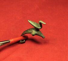 Ancient Celtic Duck Fibula or Brooch