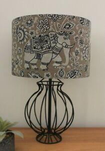 INDIRA ELEPHANT LAMPSHADES VARIOUS COLOURS - 20CM 30CM 40CM