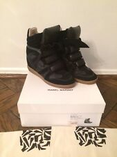 Isabel Marant Willow Wedge Sneaker Black Size 38 Fall 2012 Collection